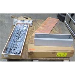 Multiple Misc Boxes WBK210SHK Mount Kit & AA1677 Rear Guard Rails