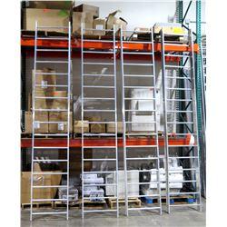 Qty 4 Tall Metal Cable Racks 005388