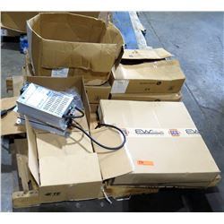 Misc Boxes Iota Industries DLS-48-20 Power Converters, GCG Electo-Wire, Misc Cables, etc