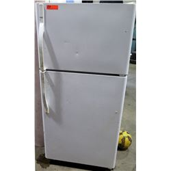 Sears Upright Refrigerator Top Freezer Model 253.64522403 White