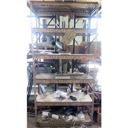 Metal 5 Tier Adjustable Shop Shelf