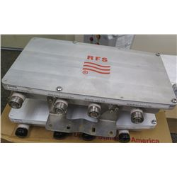 Qty 2 Radio Frequency Systems H103XC Combiner, 4 to 2C8 Sprint