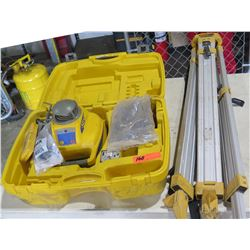 Spectra Precision Laser LL300 Automatic Self Leveling Laser Level, Tripod & Case