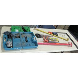 Greenlee 830 Hole Saw Kit (Bits Only), Makita Tool in Case & Hand Tools - Saw, Crowbar, etc