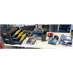Ryobi D552H Variable Speed Hammer Drill, Tool Box, Makita Drill, Milwaukee Charger