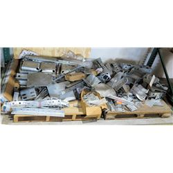 Qty 2 Pallets Misc Steel Supports, Brackets, etc