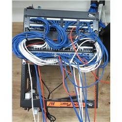 Middle Atlantic Products Board w/ HP 2530-48G PoE+ Network Switch (cables not included)