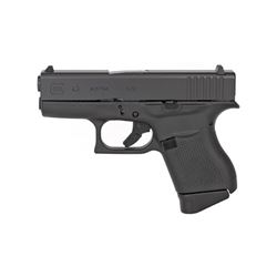 "Glock, 43, Striker Fired, Sub Compact, 9MM, 3.41"" Barrel, Polymer Frame"