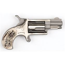 "North American Arms, Mini Revolver, Single Action, 22LR, 1.125"" Barrel, Steel Frame, Stainless Finis"
