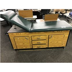GREEN 6' PATIENT EXAMINATION TABLE