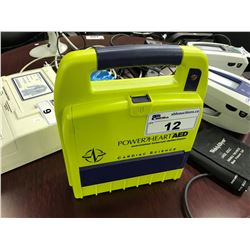 POWERHEART AED UNIT, NO CHARGER, NO BATTERY