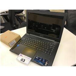 ASUS X453M LAPTOP COMPUTER WITH INTEL CELERON 2.16 GHZ CPU, 2 GB RAM, WINDOWS 10 HOME, 1 TB HDD,