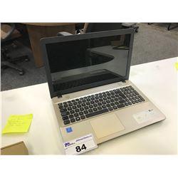 ASUS X541N LAPTOP COMPUTER WITH INTEL PENTIUM 1.1 GHZ CPU, 8 GB RAM, WINDOWS 10 HOME, 1 TB HDD,