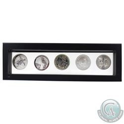 2011-2019 1oz World Bullion Fine Silver Coins in Magic Window Frame. You will receive 2011 Fiji Taku