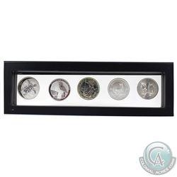 2011-2019 1oz World Bullion Fine Silver Coins in Magic Window Frame. You will receive 2011 Fiji Taku