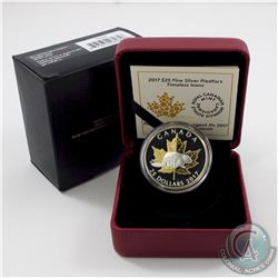 2017 Canada $25 Timeless Icons - Piedfort Fine Silver Coin (lightly toned) TAX Exempt