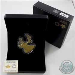 2020 Canada $50 Real Shapes: The Caribou Fine Silver Coin (TAX Exempt)