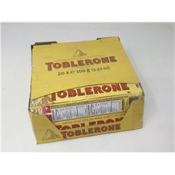 Lot of TobleroneSwiss MilkChocolate Bars (20 x 100g)
