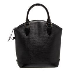 Louis Vuitton Black Epi Leather Vertical Lockit Bag