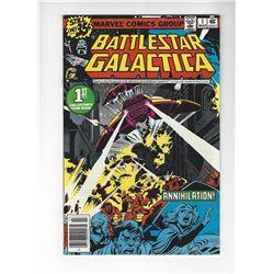 Battlestar Galactica First Issue by Marvel Comics