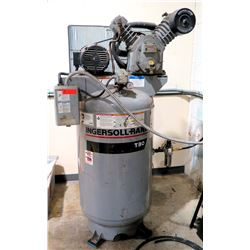 Ingersoll-Rand T30 Upright Air 120 Gal Compressor Model 2475N5 (Runs - See Video)