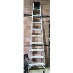 Werner Aluminum Multi-Purpose Shop Step Ladder