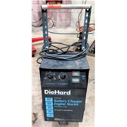 Die Hard Manual Battery Charger Engine Starter w/ Tester
