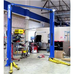 Rotary Lift SPOA10N500 Asymmetrical Two Post Car Hoist 10,000 lb. Cap (works - see video, buyer resp
