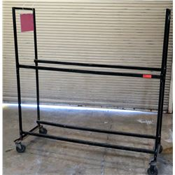4 Wheel Metal Rack Tire-Moving Dolly