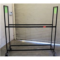 5 Wheel Metal Rack Tire Moving Dolly