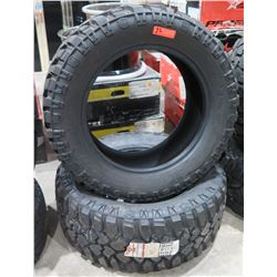 Qty 2 Mickey Thompson Deegan 38 Lt305/55R20 Tires 21044