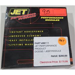Jet Performance Module 99111 for Dodge/Jeep