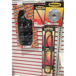 Qty 4: Cam Cover (Milodon 12562), Oil Pump Drive Shaft(Milodon 22560) & Gasket (Milodon 40650), Wind
