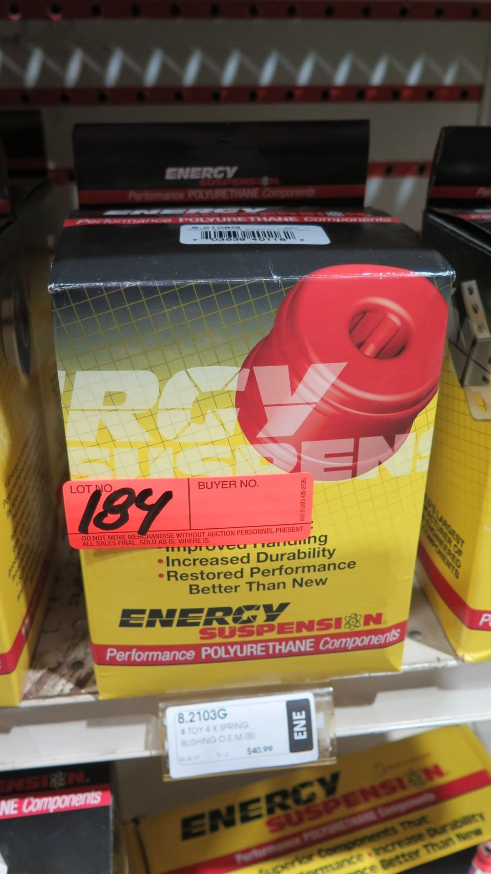 Energy Suspension 8.2101G REAR SPRING /& SHACKLE BUSHING