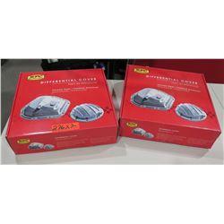 Qty 2 RPC Racing Power Company R5082X72BK Alum Dana Diff Cover - Black