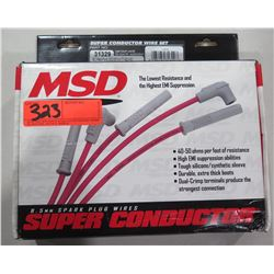 MSD Ignition 31329 Super Conductor Wires 77-93 SC Ford