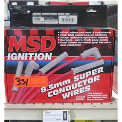 MSD Ignition 32669 8.5mm Super Conductor Wires 98-00 Toyota, Retail $108