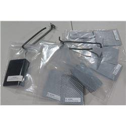 Qty 7 SCF3KH SC Bracket Carbon Fiber Horizontal  License Plate Side Mount