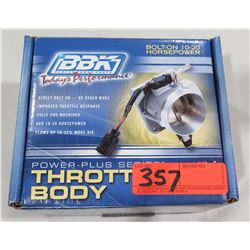 BBK 1765 Bolt On 10-20 Horsepower Throttle Body 05+ Mustang