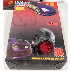 APC Retro 3D Series 404756TLR Honda Civic Si 03-UP