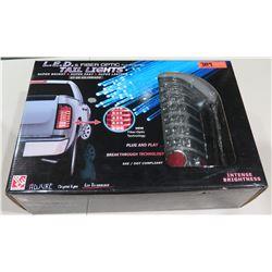 Adjure LED & Fiber Optic Tail Light w/ Reverse Light 07-09 Silverado