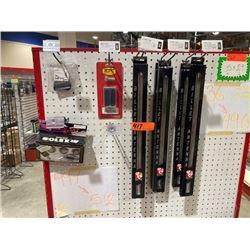 Qty 5 Billet Antennas, RPC R8501POL Brake Pad, Solex SLC-015 Locks