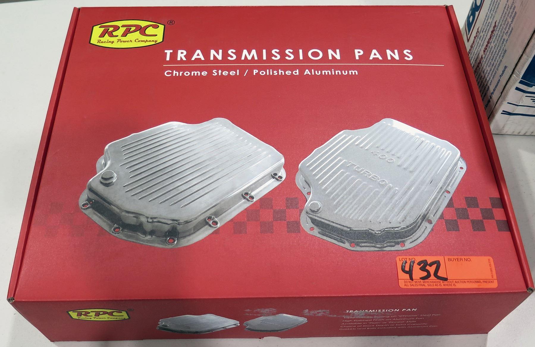 Racing Power R9127 Transmission Pan