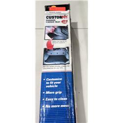 CustomFit (Cut to Fit) Rubber Cargo Mat Black