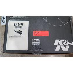 K&N 63-2578 Air Charger High Flow Intake Kit (MUSTANG GT5.0L V8, 2011-2014) $420/retail