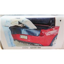 Covercraft QD001BK Rear Scratch Guard Black  97-10 Corvette