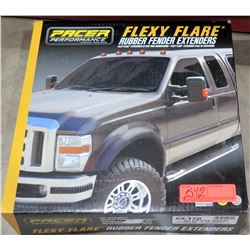 "Pacer Flexy Flare 52-170 Rubber Fender Extenders 2.25"" No Lip Side Mount (pair - $62/ea)"