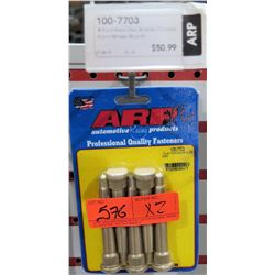 "Qty 2 ARP 100-7703 Brake Drum Wheel Stud Kit (Ford 1/2"") $51/ea"