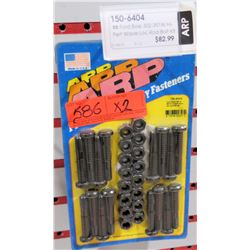 Qty 2 ARP 150-6404 Hi Performance Wave Loc Rod Bolt Kit Ford $83/ea