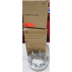 "Qty 4 Dual Pattern Wheel Adapaters 1.25"" WA65506135-6550B 6x5.50/6x135 to 6x5.50 $224/set"